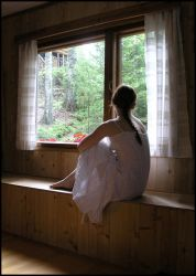 By The Window IV by Eirian-stock