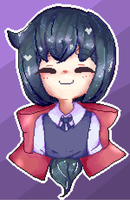 Pixel Art #1 Constantine - Little Witch Academia by AmeAii