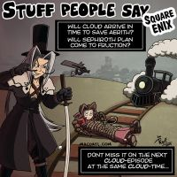 Stuff people say 133 by FlintofMother3