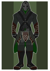 DnD OC:: Hunter by quila111