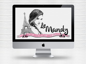 Layout blog le Mandy by Paloma182