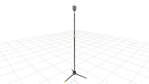 MMD Stand up microphone by haddyDrow