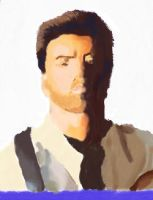 George Michael - real portrait by Wicked-Pirate-Queen