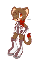 Kelly the cat by city-galaxies