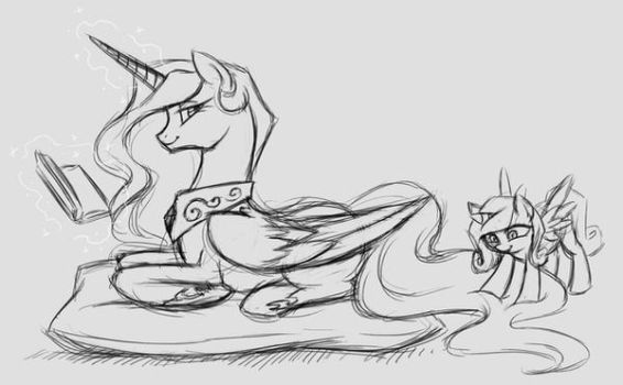 Poofy Tail! by Valkyrie-Girl