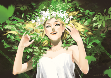 Flower Crown II by ZI-PA