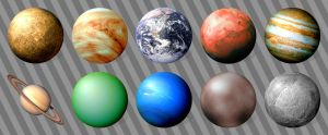 Planetary Icons for Windows by CitizenJustin