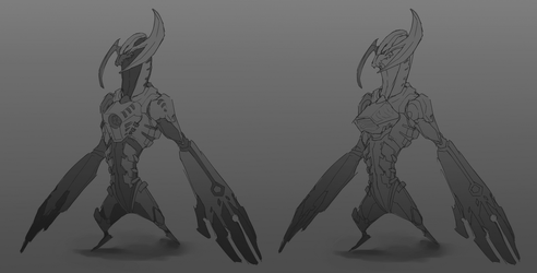 Beast 3 - concepts by NyxDruid