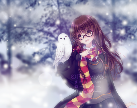 Commission: Female Harry Potter [+Speedpaint] by Pluvias