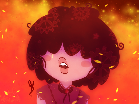 .::Flaming Ruby::. by OpalesquePrincess
