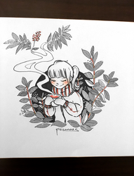 inktober poisonous by Guava-Pie