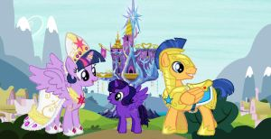 Twilight's family reupload by Lazbro64