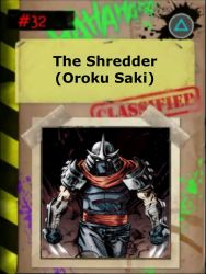 Case File #3: The Shredder by BurningEagle171340