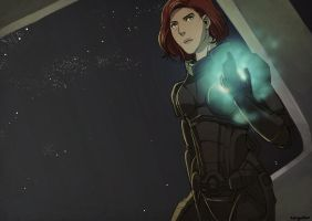 ME3 Commission by AmandaSylvia by Nazgullow