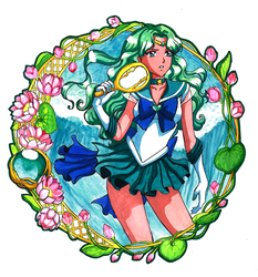 Sailor Neptune by ElynGontier