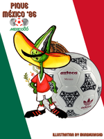 .:World Cup Mascots:.Pique by MundienaSKD