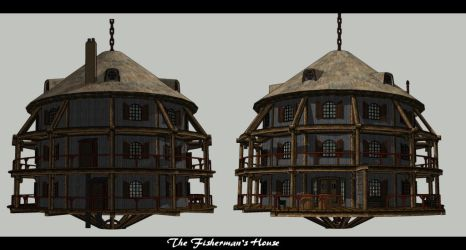 The Fisherman's House 2 by Ywander