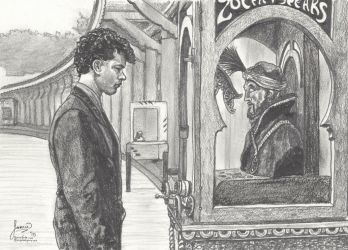 Josh Baskin and Zoltar - from Big by myprettycabinet