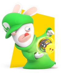 Rabbid Luigi by PigXChloe