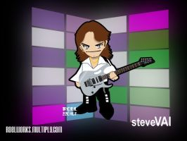 Steve Vai Chibi 2 by roelworks