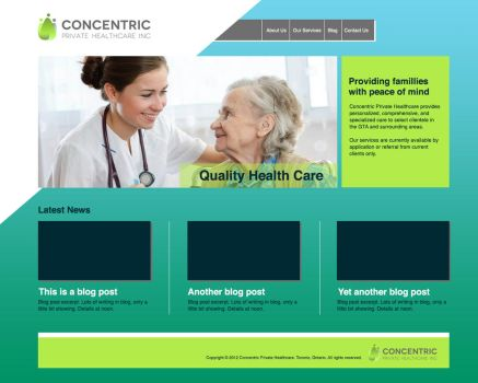 Concentric Website by shikkaba