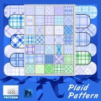 baby Plaid-Pattern by roula33