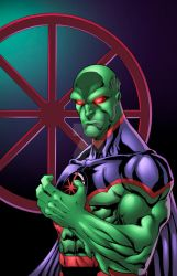 Martian Manhunter 52 by Kid-Destructo