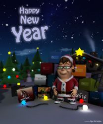 Hapy New Year by pixi-ugur