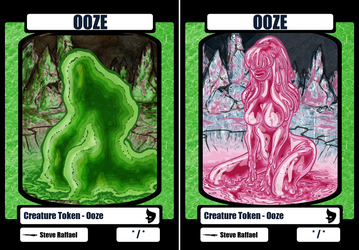 Ooze Tokens by Xebeckle-il-Ziluf