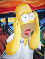 Simpsons Scream by inspirational-dreams