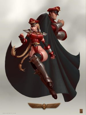 Bison Cammy by ArtofTy