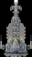 Big Battleship Thing by Rhopunzel