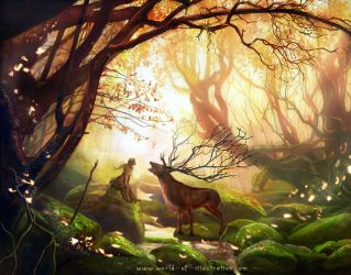 The golden forest by laura-csajagi