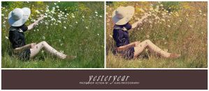 action: yesteryear by alais-stock