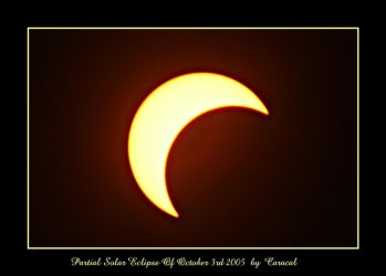 Partial Solar Eclipse by caracal