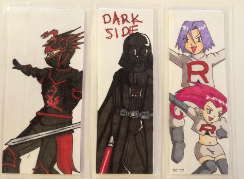 Bookmark Side 1 by Marle1010