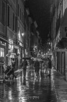 Night life under the rain by Ragnarokkr79