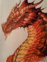 Red dragon by Chaylar