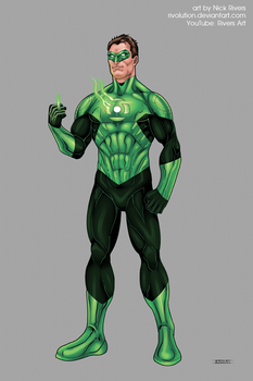 Green Lantern by RIVOLUTION