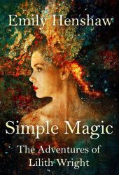 Book cover - Simple Magic by Emily Henshaw by CathleenTarawhiti