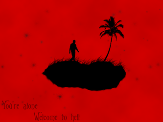 you're alone welcome to hell by leingad
