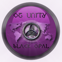Black Opal Sticker by miguelsanchez666