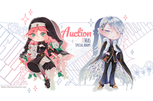 [Adopt Auction] Special Xmas Theme - CLOSE - by QuinnyIlada