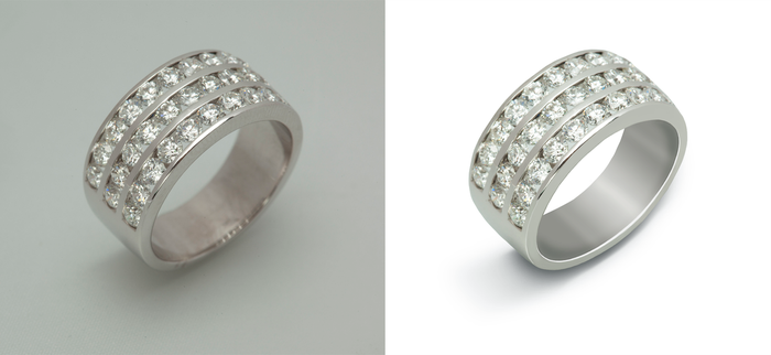 Silver ring retouch by SatelliteAlice