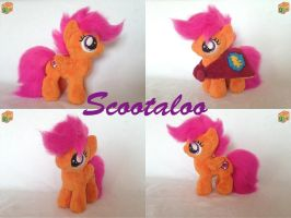 Scootaloo Plush by Dexamethason
