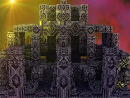 MB3D TEMPLES by Topas2012