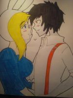 Marshall Lee x Fiona by Freakypeguin