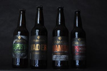 Gilgamesh Brewing Beer Labels by filly4585