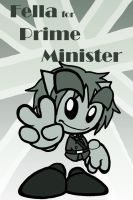 Fella For Prime Minister by lillilotus
