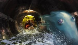 Hungry Pacman by Gaan